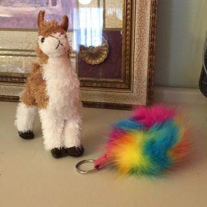 Bundle 2 / Llama and backpack puff